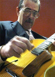 Jazz guitarist Peter Leitch